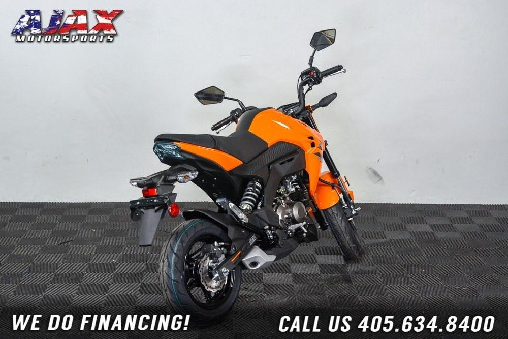 2019 Kawasaki Z125 Pro 6