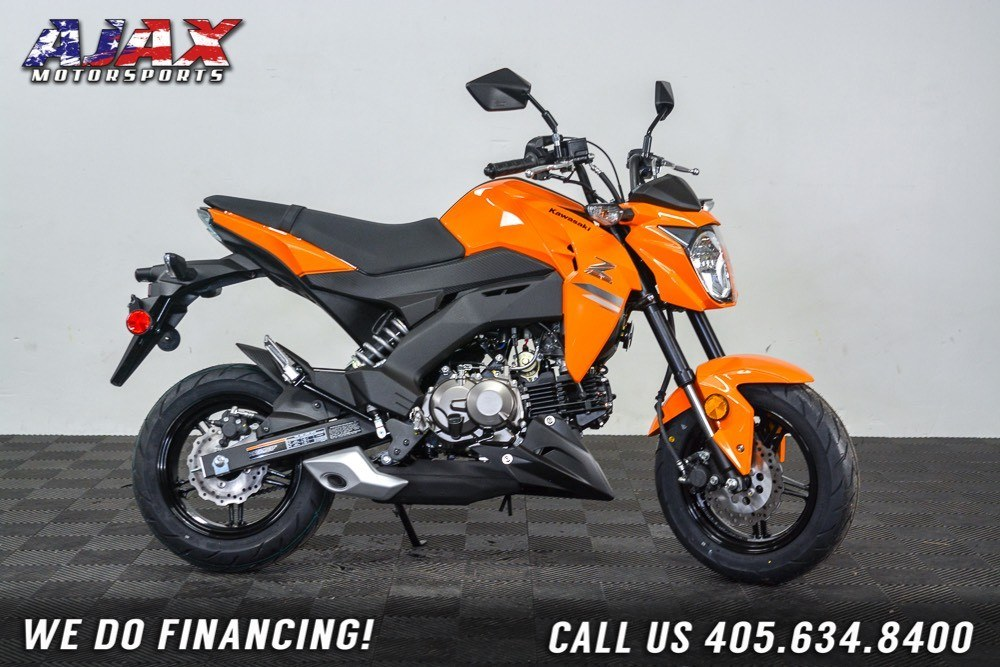 2019 Kawasaki Z125 Pro 7
