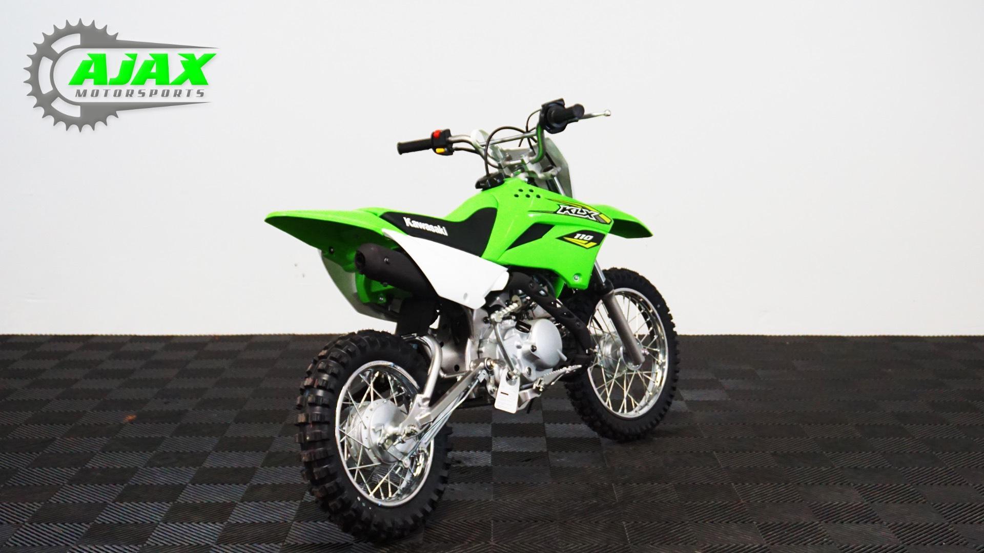 2018 Kawasaki KLX 110 4