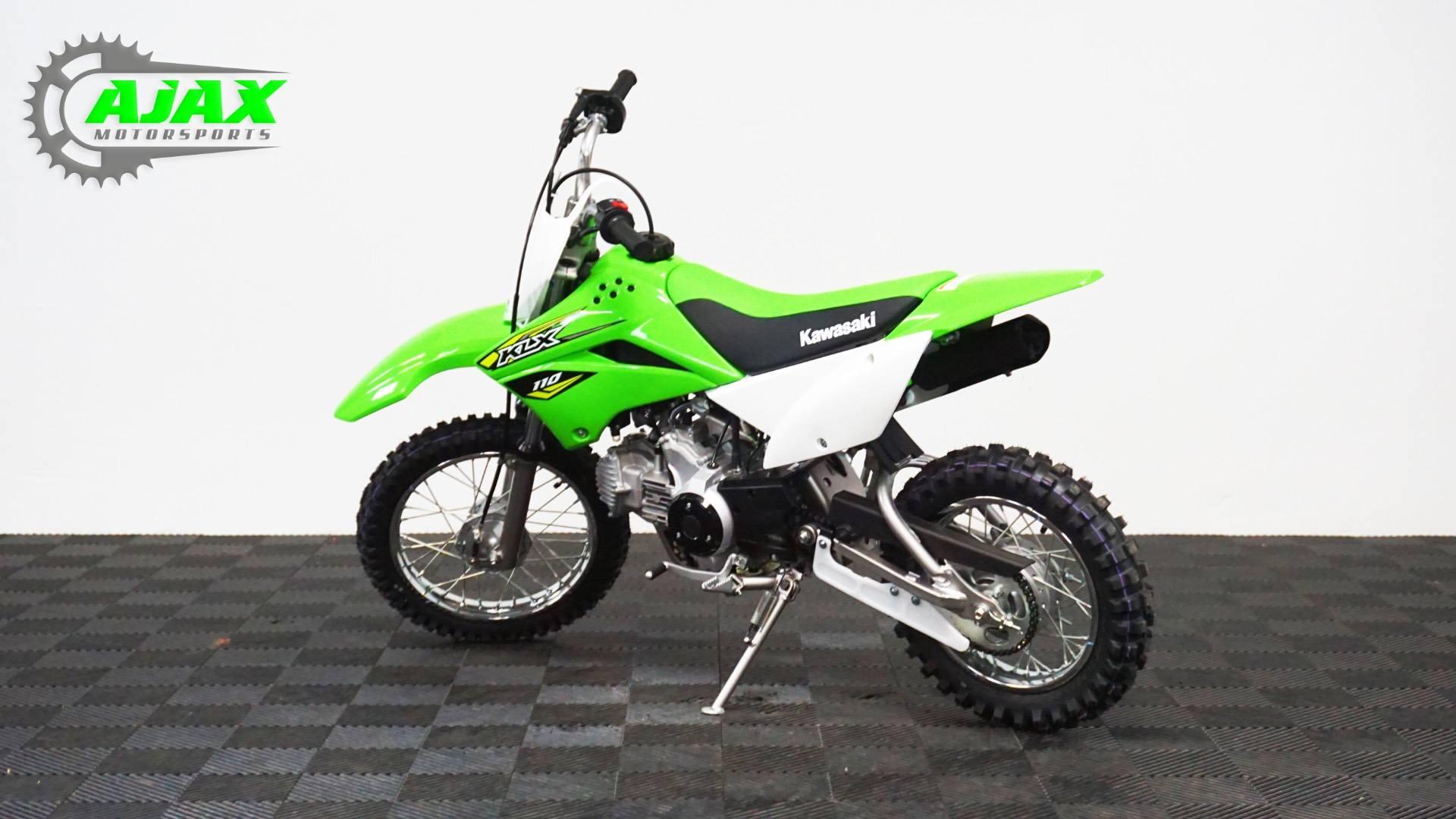 2018 Kawasaki KLX 110 6