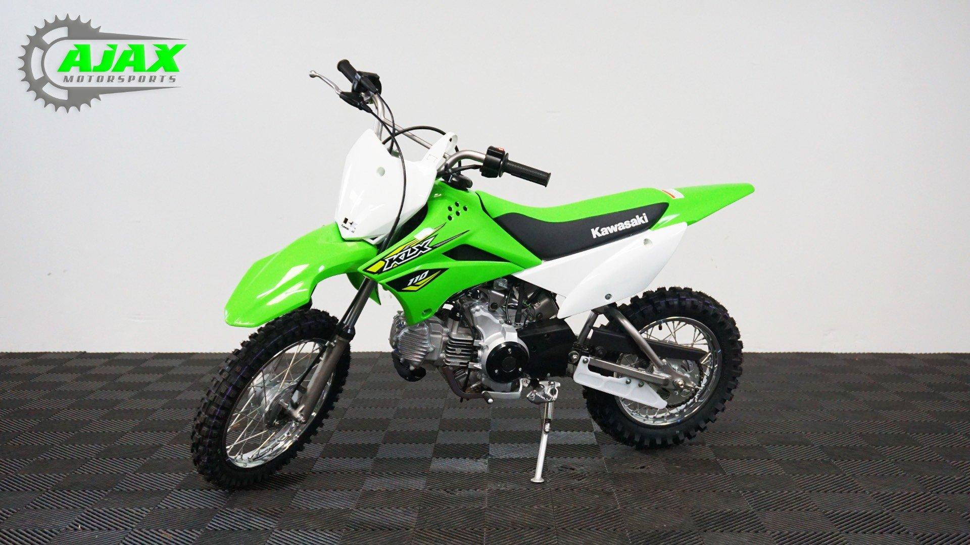 New 2018 Kawasaki KLX 110 Motorcycles in Oklahoma City, OK | Stock