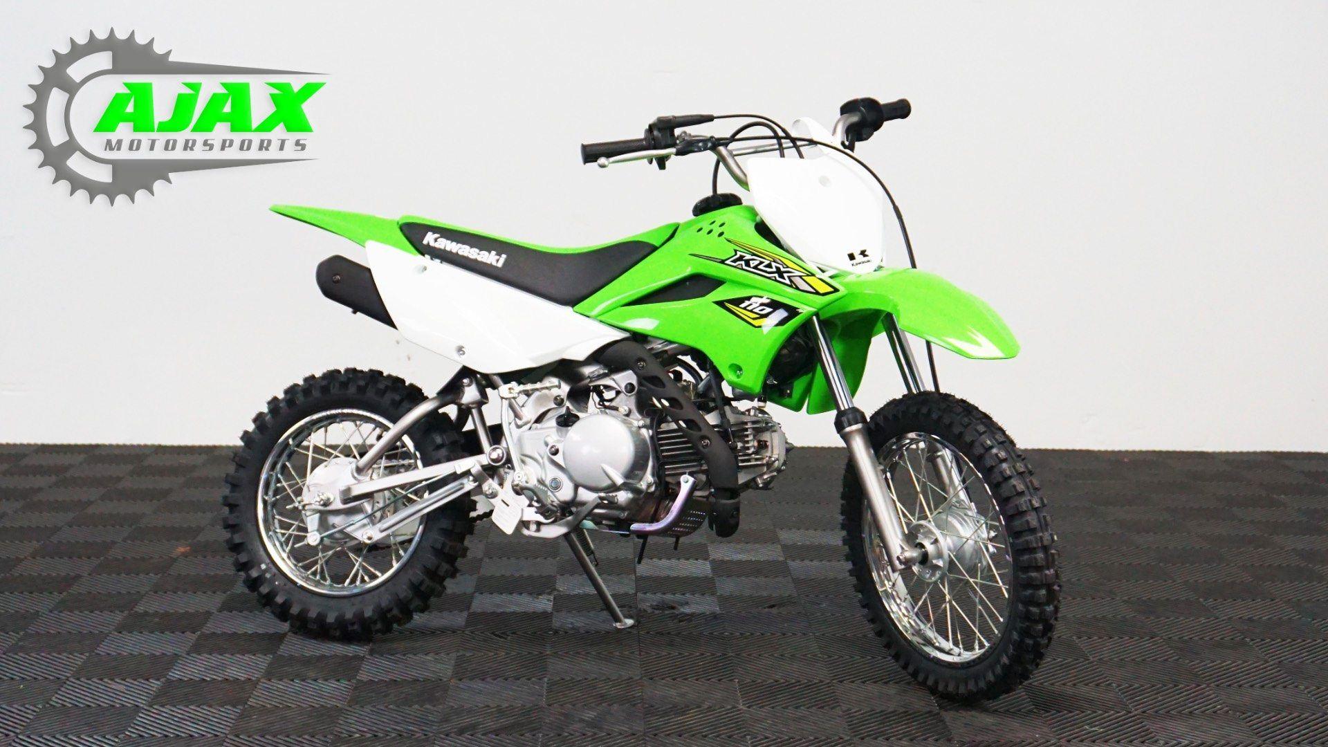 New 2018 Kawasaki KLX 110 Motorcycles in Oklahoma City, OK | Stock ...