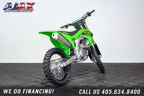 2020 Kawasaki KX 450 in Oklahoma City, Oklahoma - Photo 4