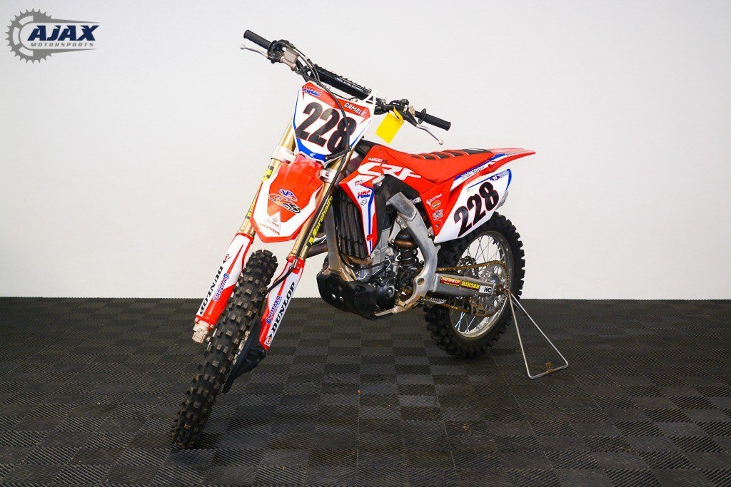 2017 Honda CRF450R in Oklahoma City, Oklahoma