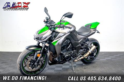 2016 Kawasaki Z1000 ABS in Oklahoma City, Oklahoma