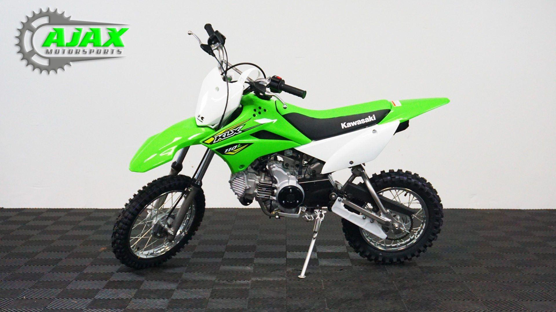 New 2018 Kawasaki KLX 110L Motorcycles in Oklahoma City, OK   Stock