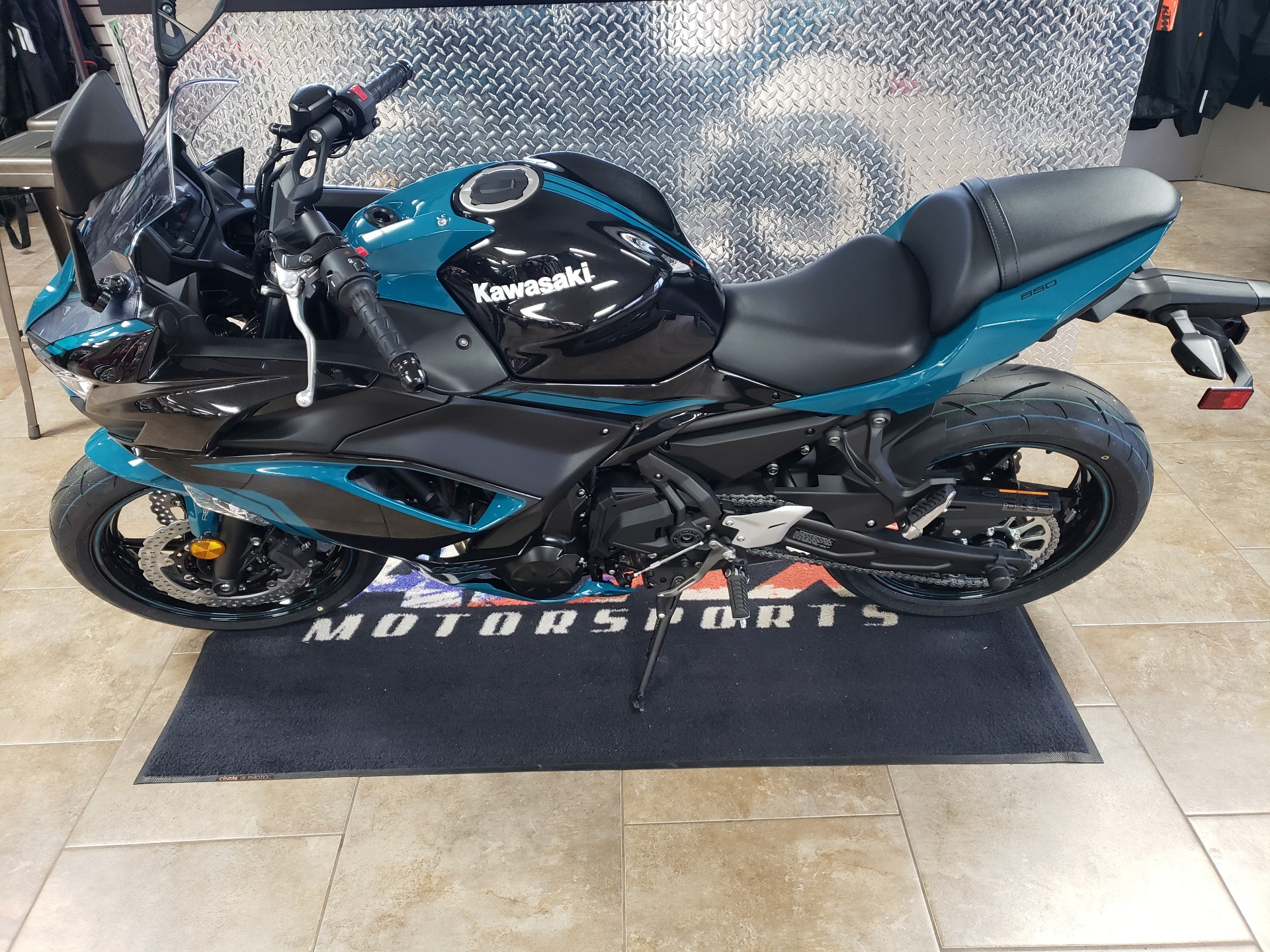 2021 Kawasaki Ninja 650 ABS in Oklahoma City, Oklahoma - Photo 1