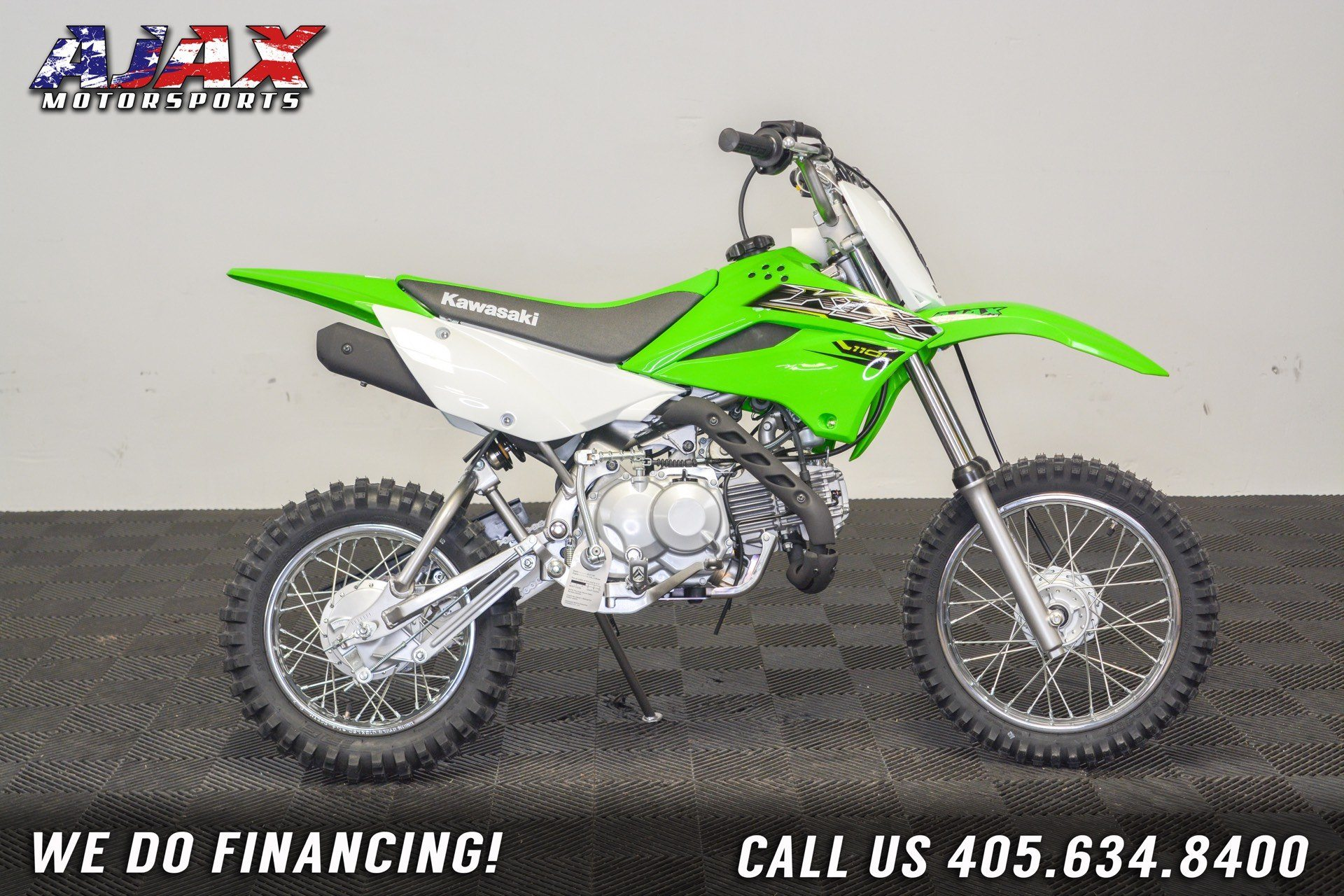 2020 Kawasaki KLX 110L in Oklahoma City, Oklahoma - Photo 1
