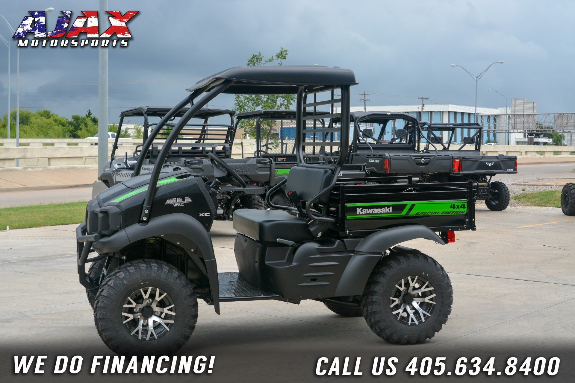 2019 Kawasaki Mule SX 4X4 XC SE in Oklahoma City, Oklahoma - Photo 1