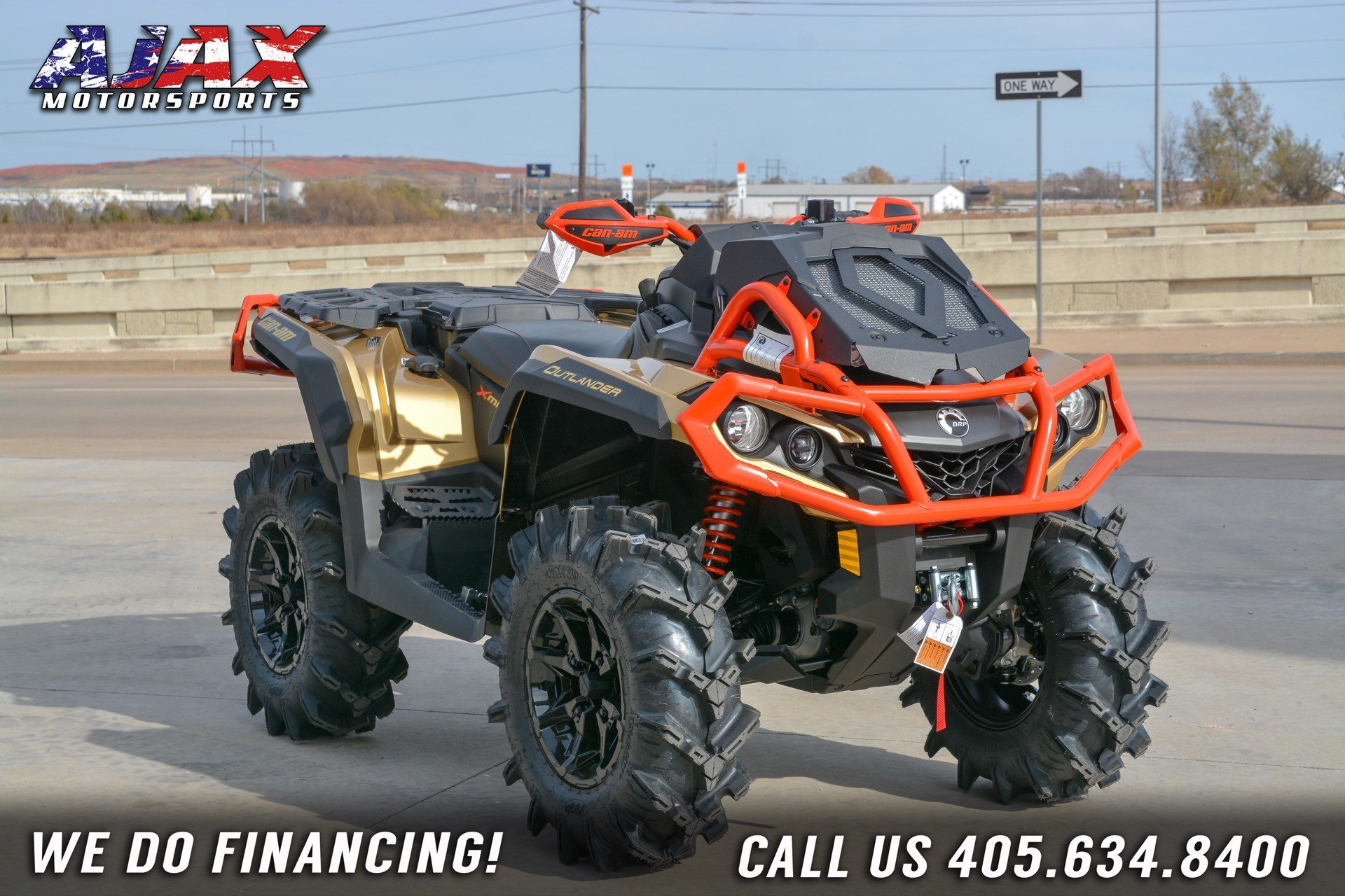 2019 Can-Am Outlander X mr 1000R in Oklahoma City, Oklahoma