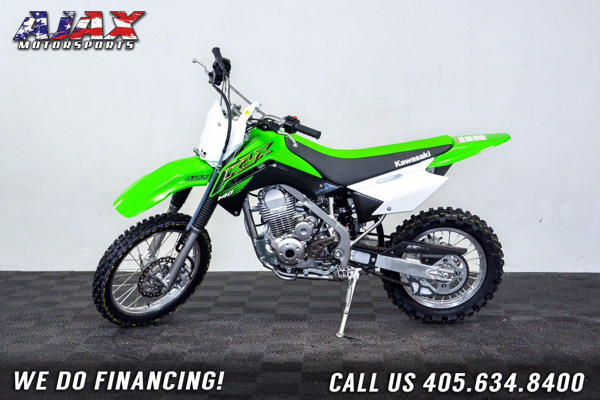 2020 Kawasaki KLX 140 in Oklahoma City, Oklahoma - Photo 1