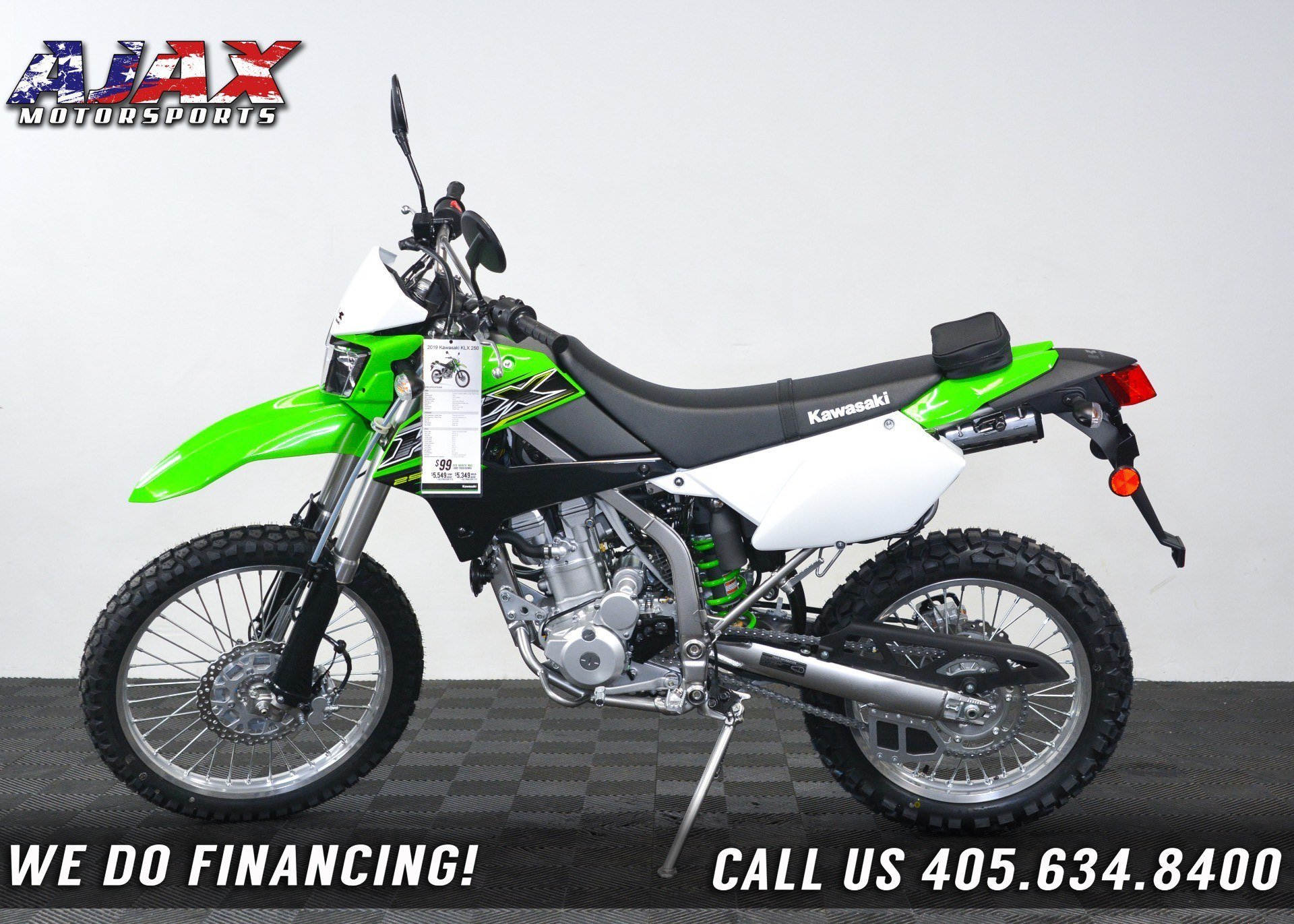 2019 Kawasaki KLX 250 in Oklahoma City, Oklahoma - Photo 6