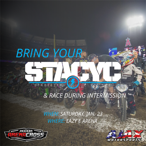 Stacyc Race at Lazy E Arena