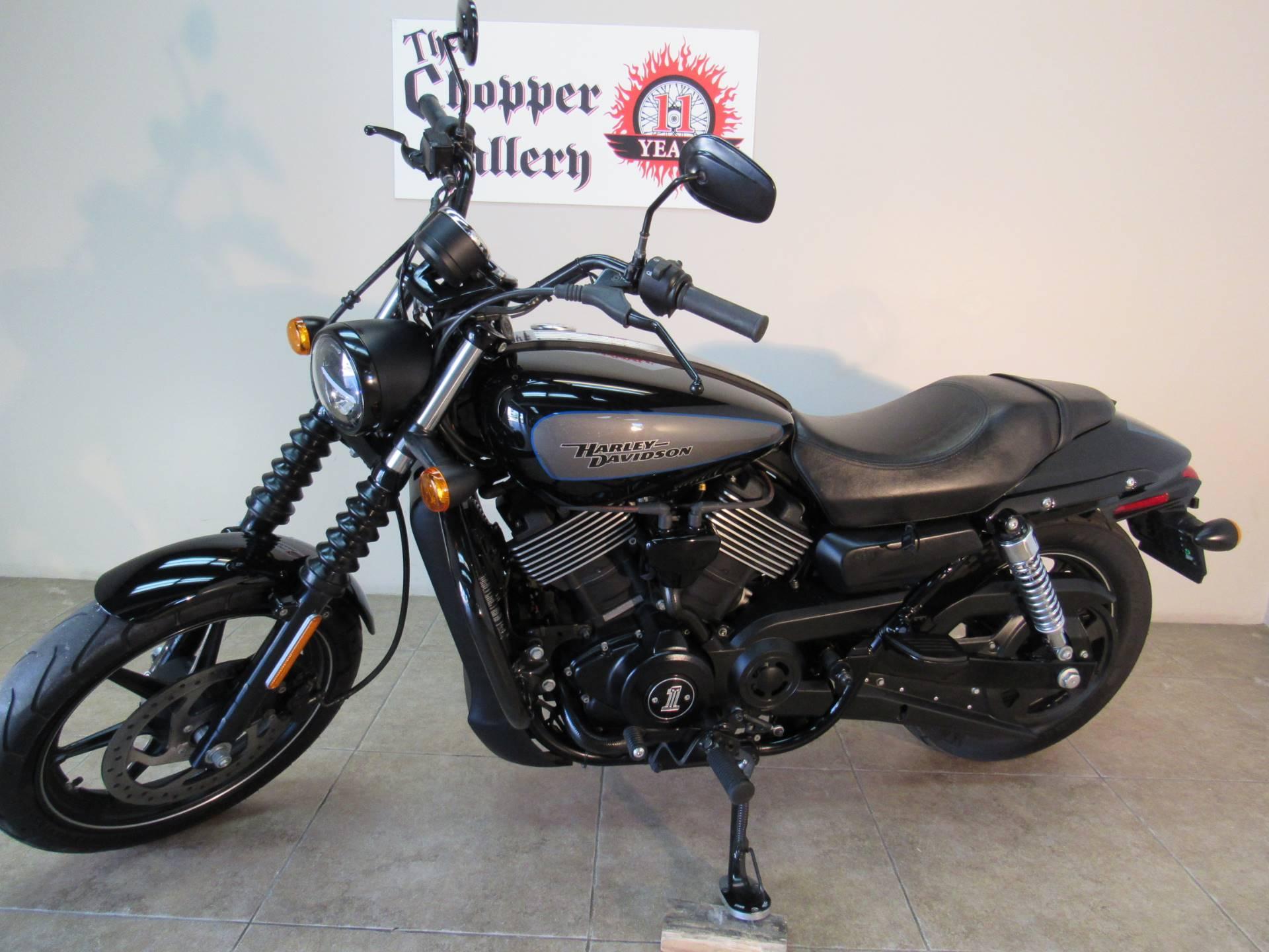 2017 Harley Davidson Street 750 In Temecula California