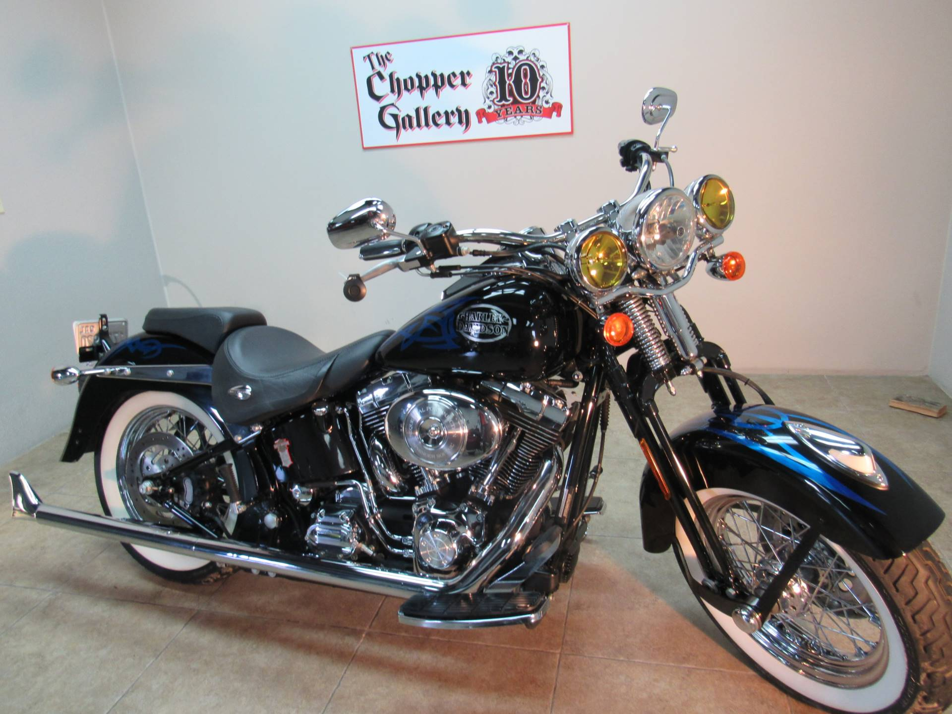 2005 Harley-Davidson FLSTSC/FLSTSCI Softail Springer Classic 4