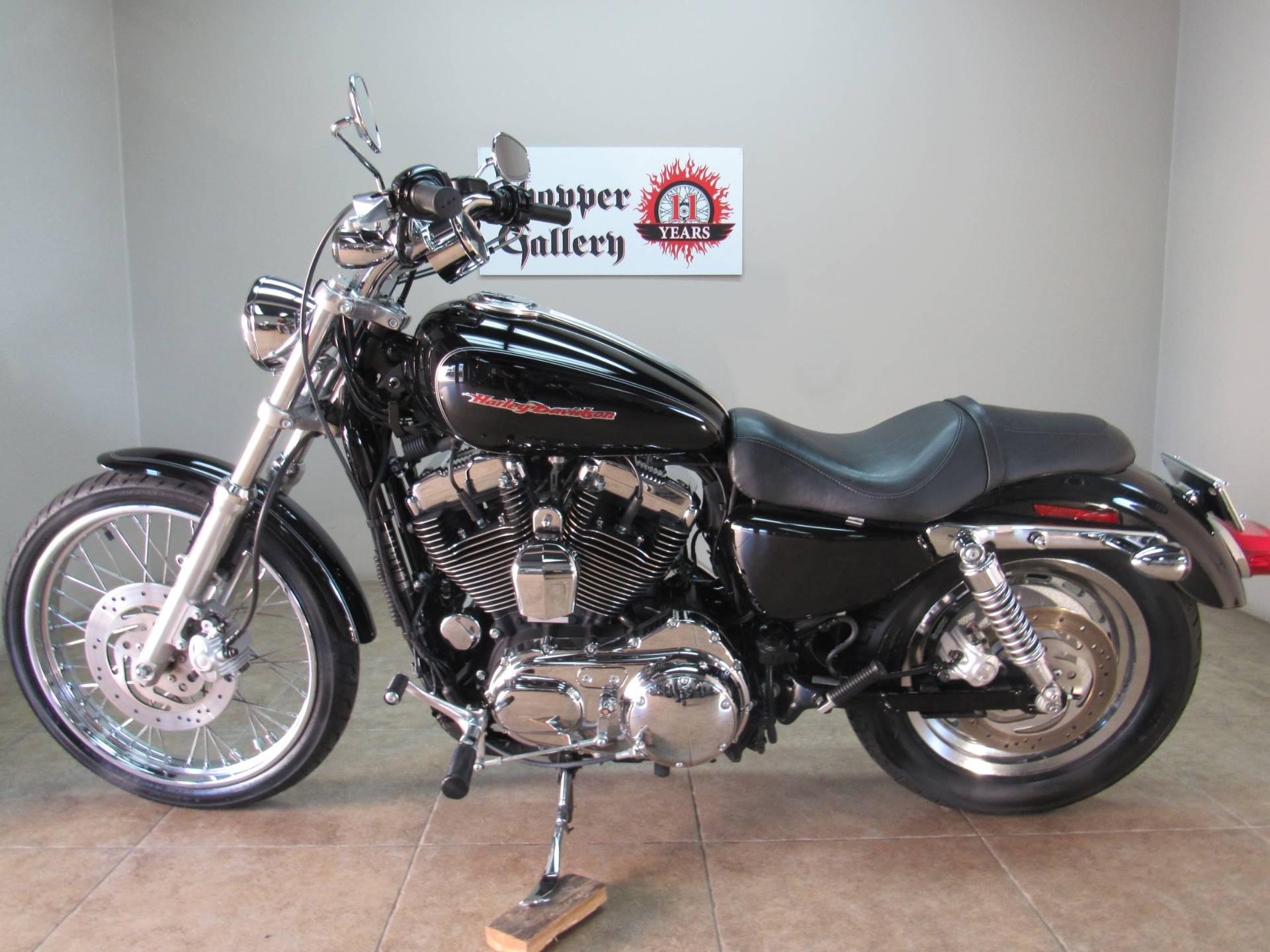 Harley Davidson Sportster 1200 >> Used 2007 Harley Davidson Sportster 1200 Custom Motorcycles In