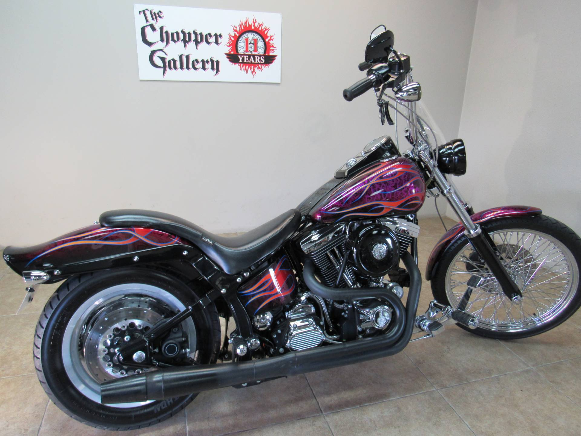 1996 Harley-Davidson softail custom in Temecula, California - Photo 4