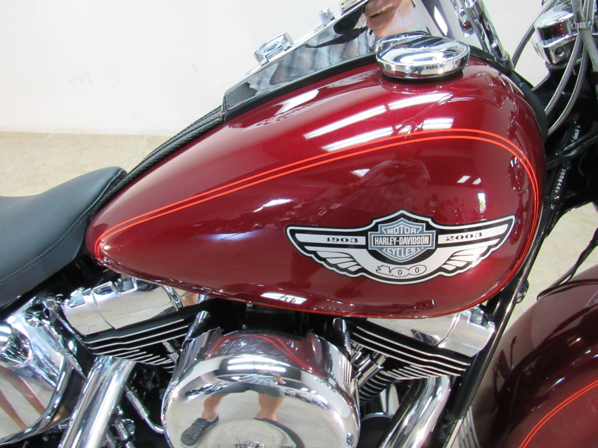 2003 Harley-Davidson FLSTC/FLSTCI Heritage Softail® Classic in Temecula, California - Photo 11