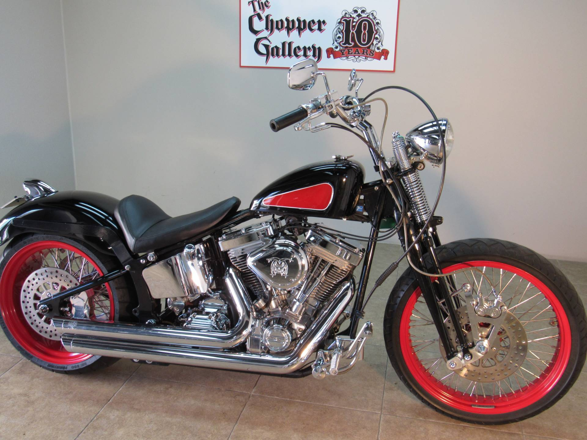 2005 Custom Custom  Springer Bobber 113 SS in Temecula, California - Photo 3