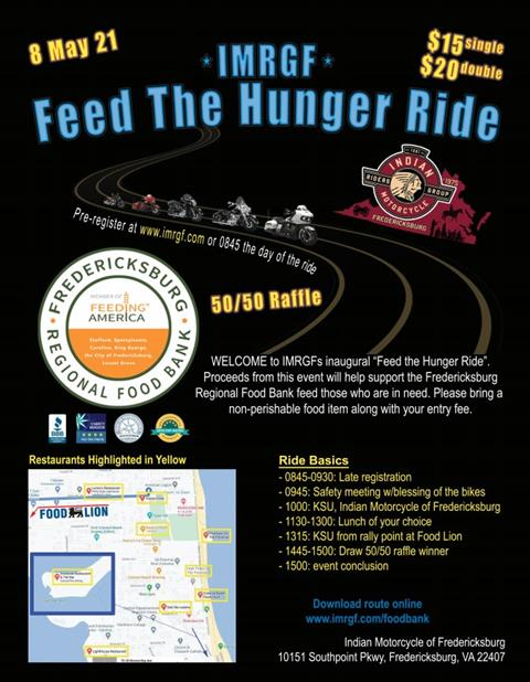IMRGFXBG Feed the Hunger Ride
