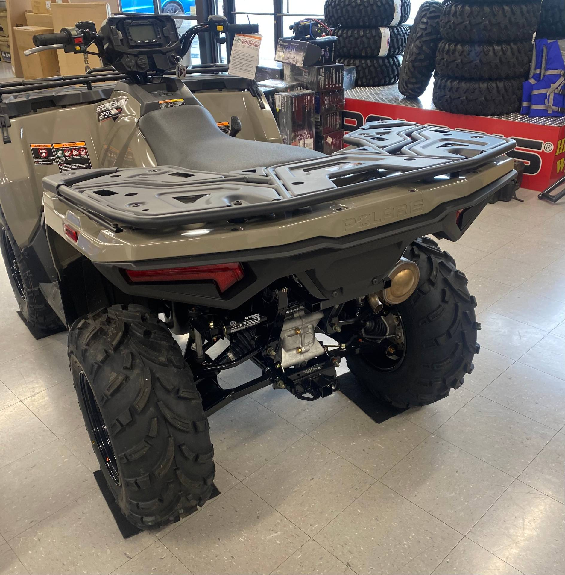 2021 Polaris Sportsman 570 EPS Utility Package in Wytheville, Virginia - Photo 4