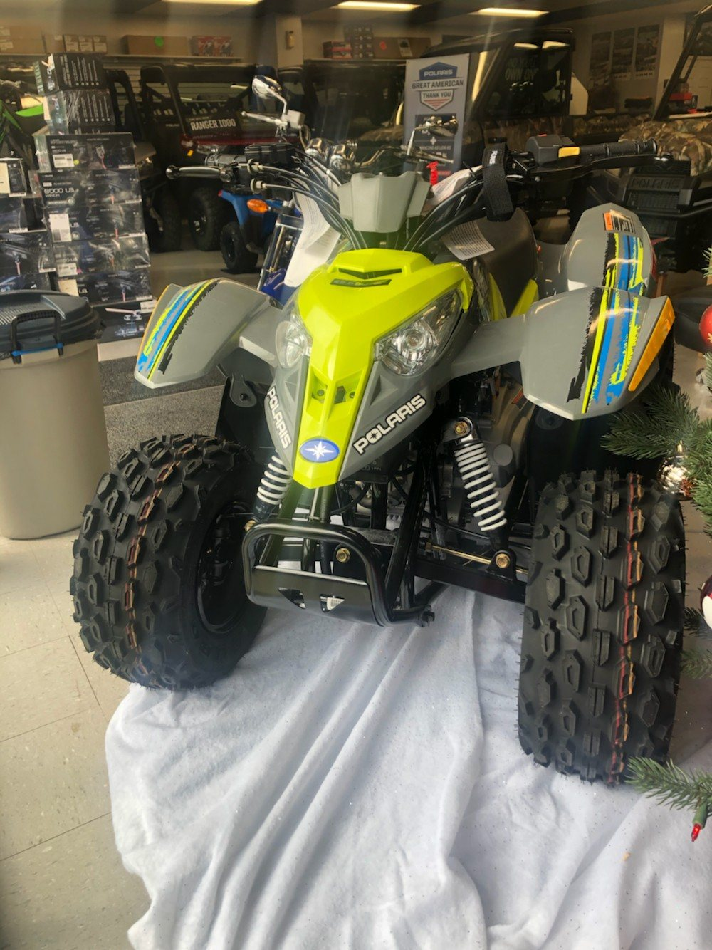 2019 Polaris Outlaw 50 in Wytheville, Virginia - Photo 2