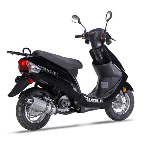 2018 Wolf Brand Scooters Wolf RX-50 in Wytheville, Virginia