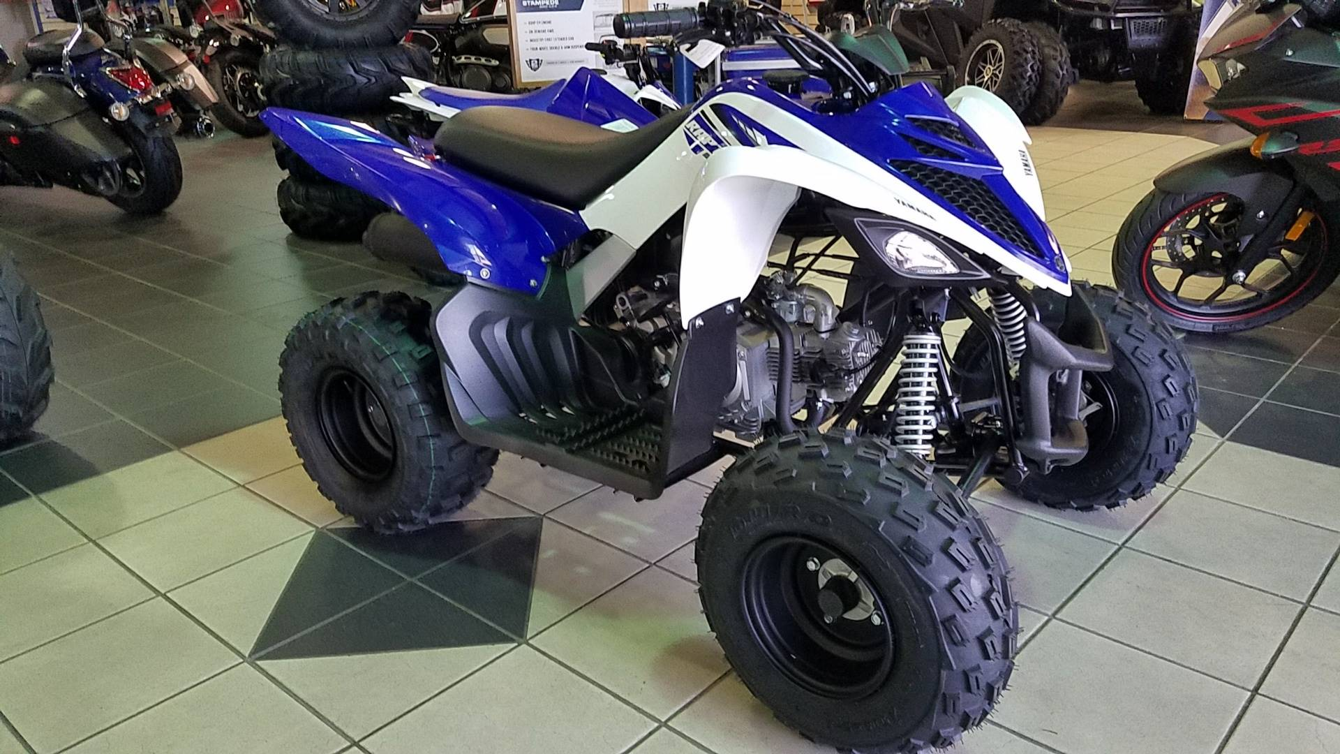 2017 Yamaha Raptor 90 1