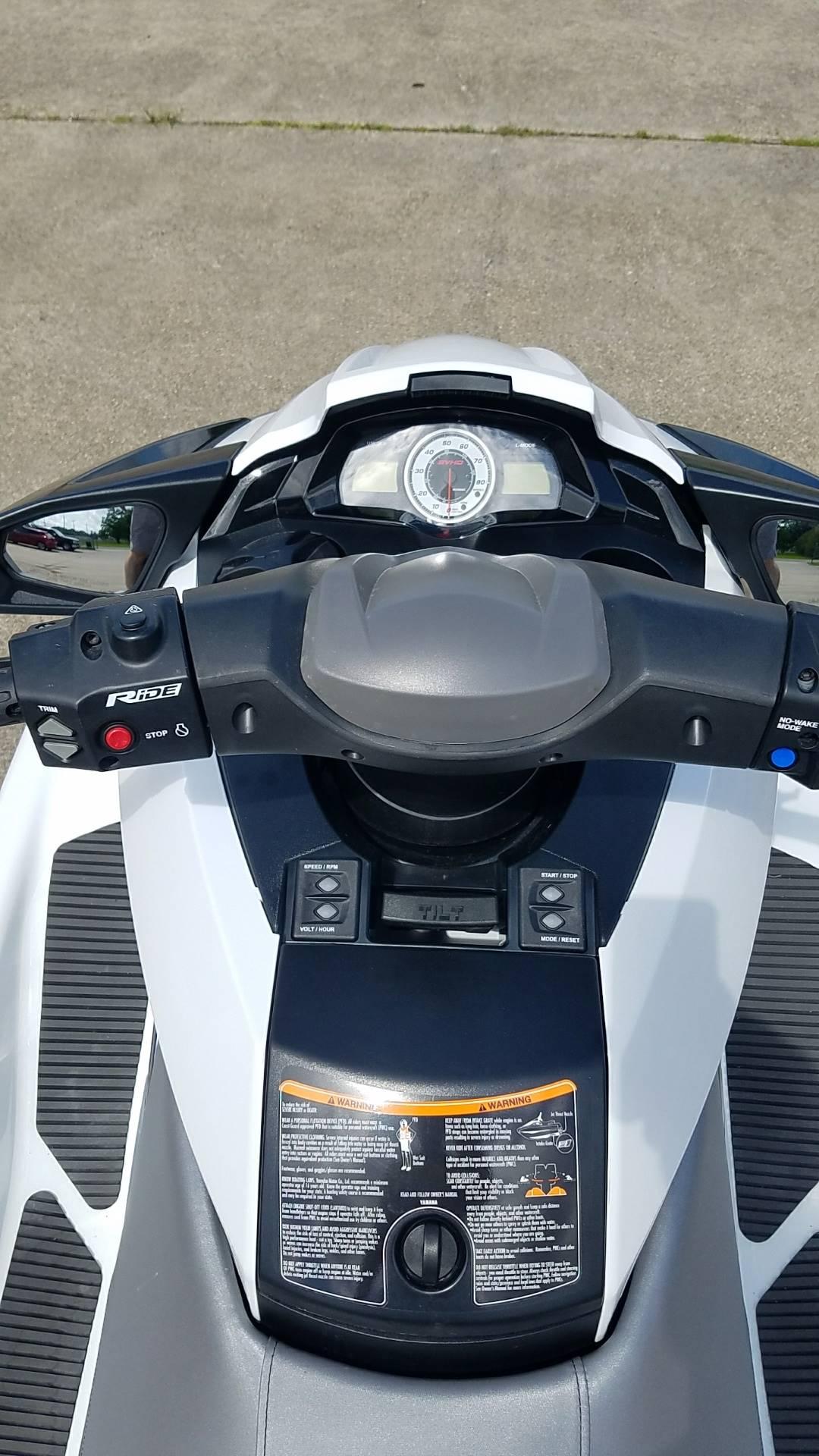2016 Yamaha FX Cruiser SVHO 7