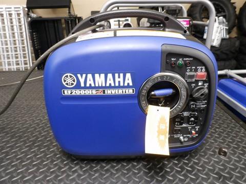 2016 Yamaha EF2000iSv2 in Webster, Texas