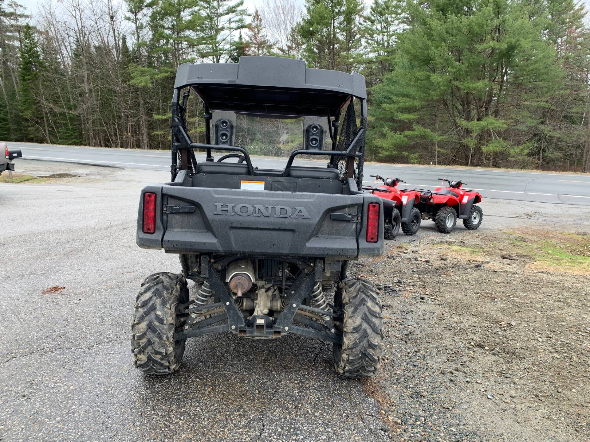 2017 Honda Pioneer 700 Deluxe in Littleton, New Hampshire