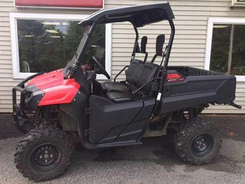 2016 Honda Pioneer 700 in Littleton, New Hampshire