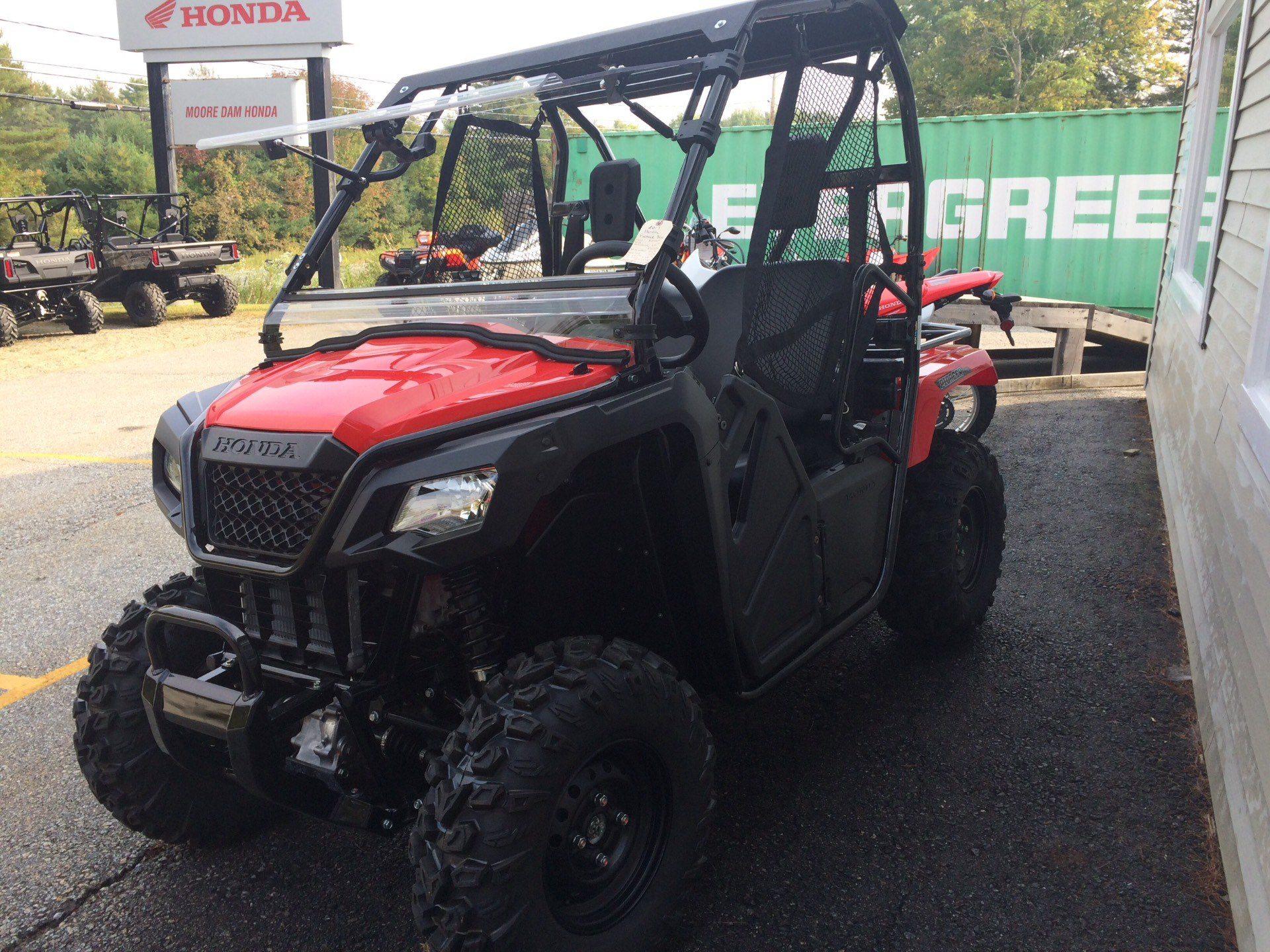 2017 Pioneer 500