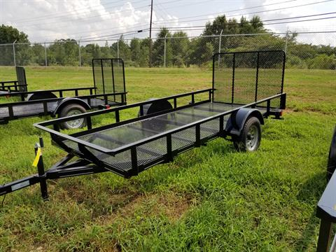 2018 Brewer Implement 2018 Brewer Implement 5x12 Mesh Landscape Utility Trailer in Tifton, Georgia