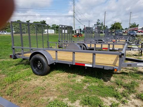 2019 Anderson Trailers 7X12 LANDSCAPE UTILITY WOOD in Tifton, Georgia