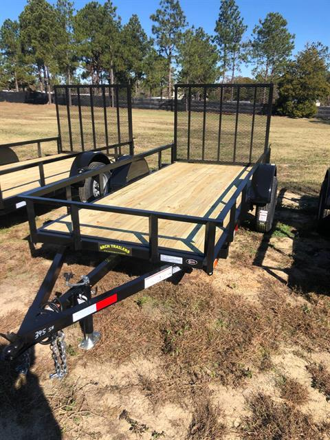 2020 Arch Trailers 5X12 SINGLE AXLE UTILITY TRAILER in Tifton, Georgia