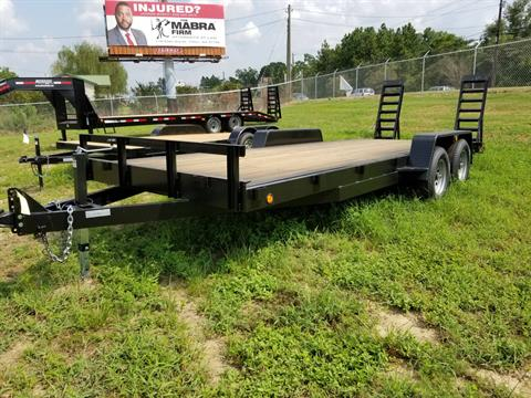 "2018 Brewer Implement 2018 Brewer Implement 6'10""x20' Double Axle Equipment Trailer in Tifton, Georgia"