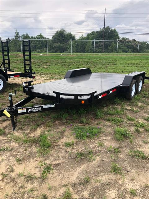2018 Anderson Trailers ANDERSON 7X18 CF CAR HAULER in Tifton, Georgia