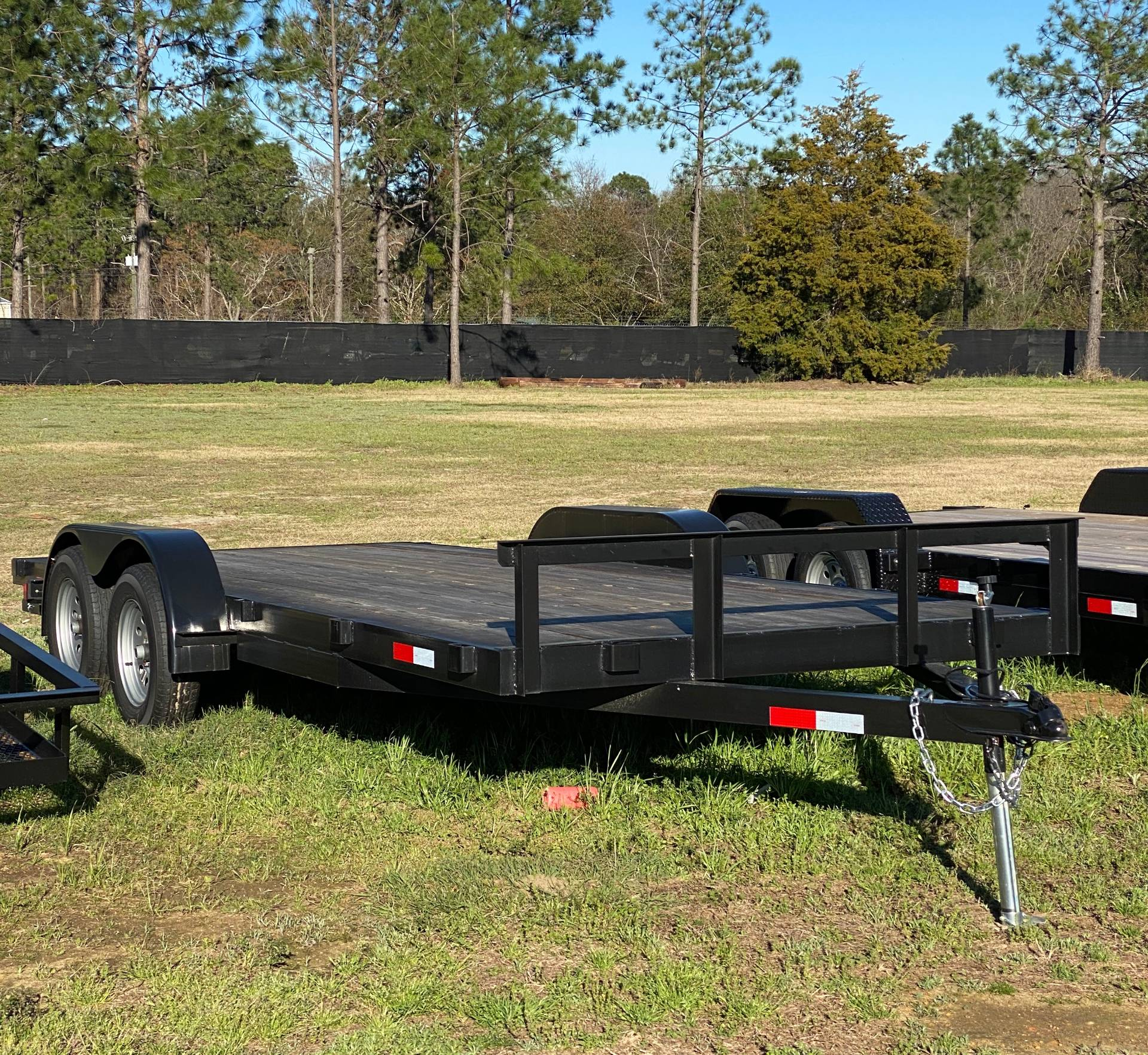 2019 Brewer Implement 6 1/2 X 18 TANDEM UTILITY TRAILER in Tifton, Georgia