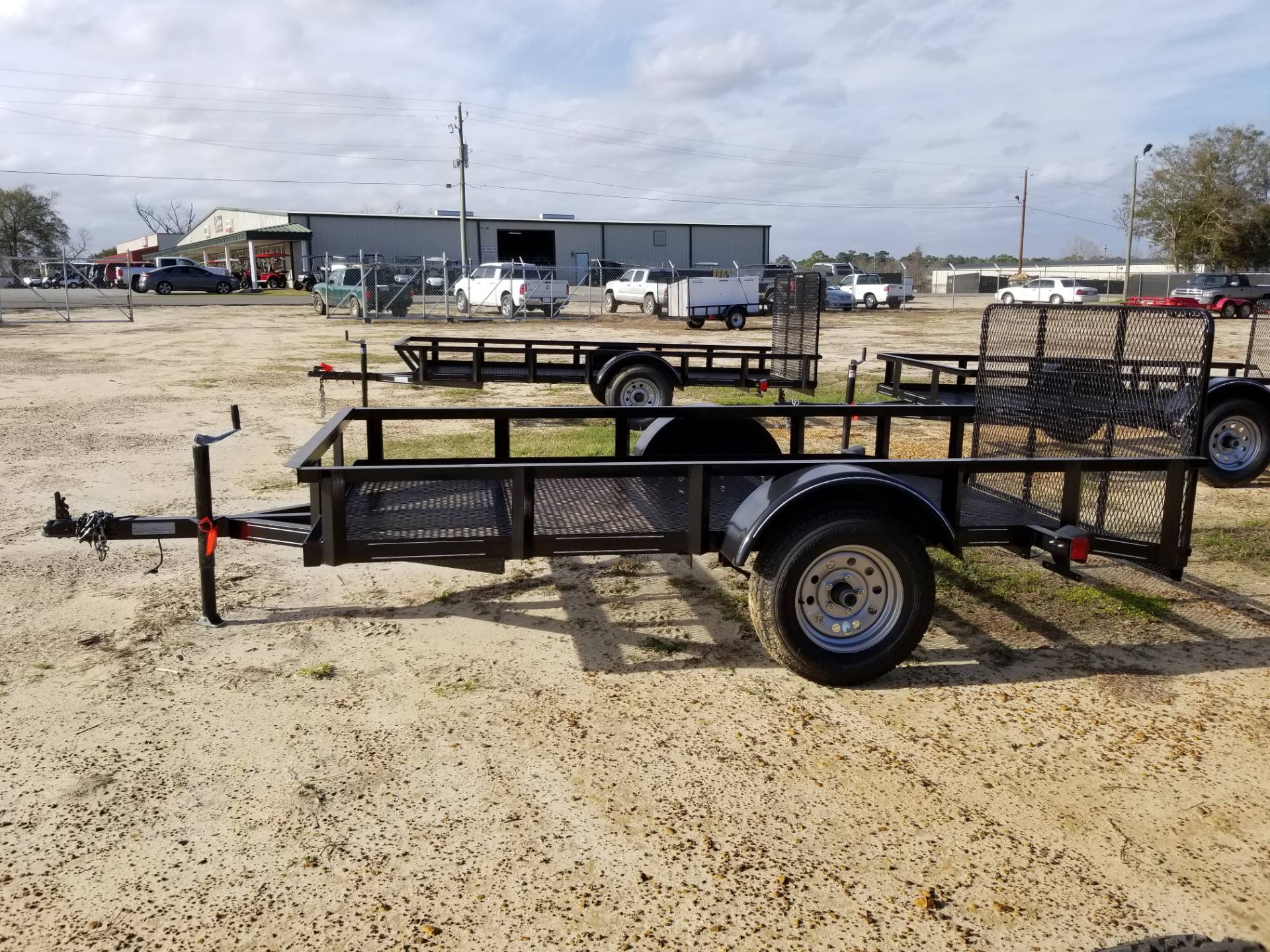 2018 Brewer Implement SINGLE AXLE 5X10 MESH DOVE TAIL in Tifton, Georgia