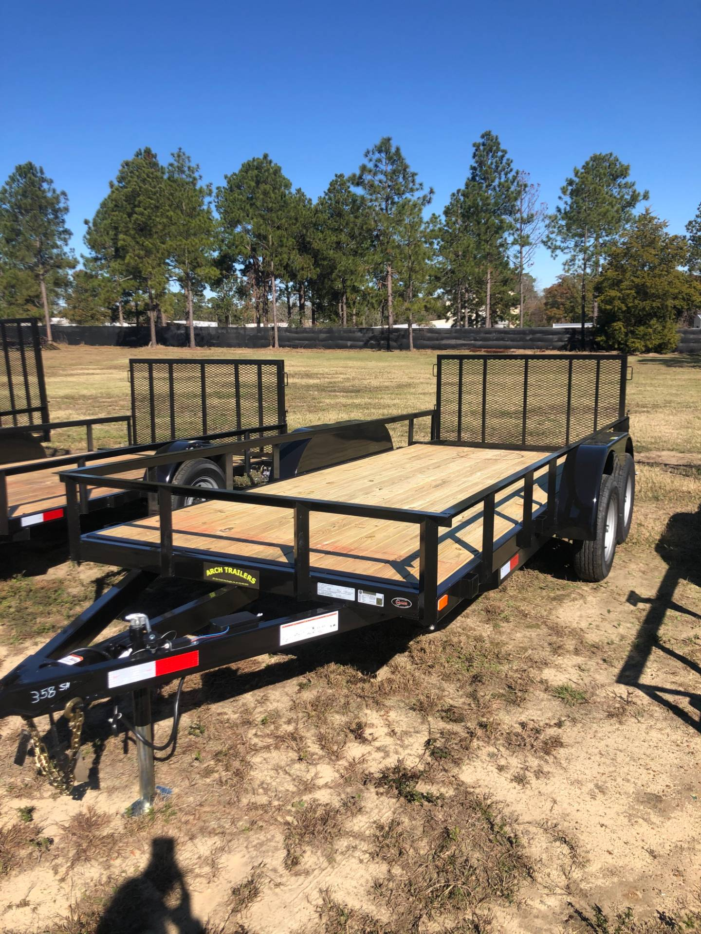 2020 Arch Trailers 6X16 TANDEM AXLE BEAVER TAIL in Tifton, Georgia