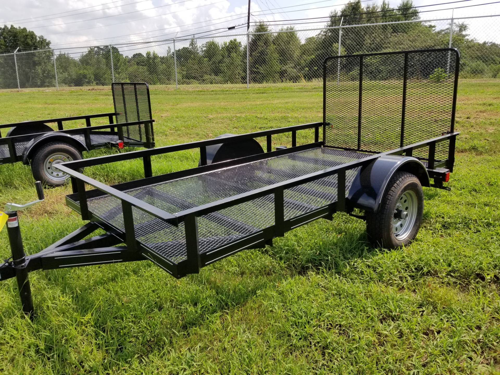 2018 Brewer Implement 2018 Brewer Implement 5x10 Mesh Landscape Utility Trailer In Tifton Georgia