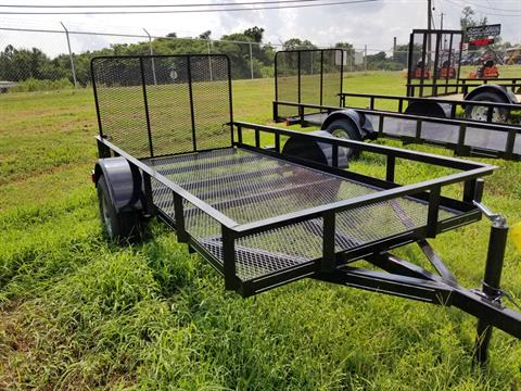 2018 Brewer Implement 2018 Brewer Implement 5x10 Mesh Landscape Utility Trailer in Tifton, Georgia