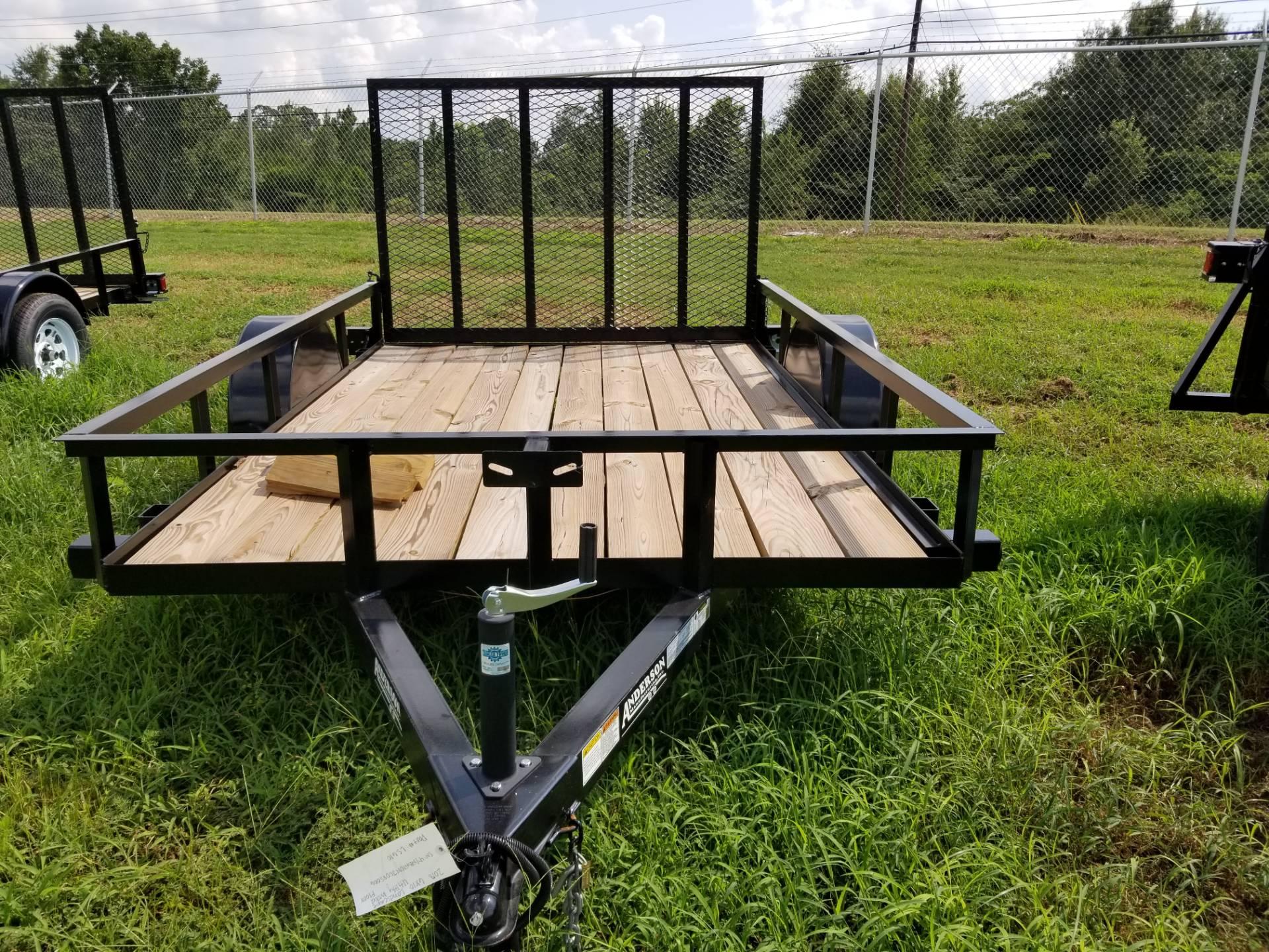 Anderson Trailers Anderson X Landscape Utility Trailer - Picnic table trailer