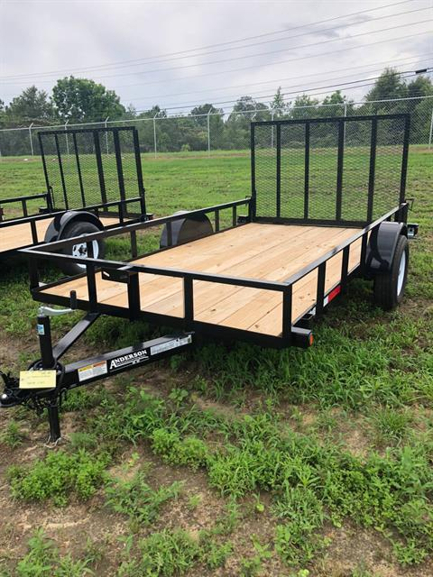 2018 Anderson Trailers 6X12 LANDSCAPE UTILITY WOOD FLOOR in Tifton, Georgia