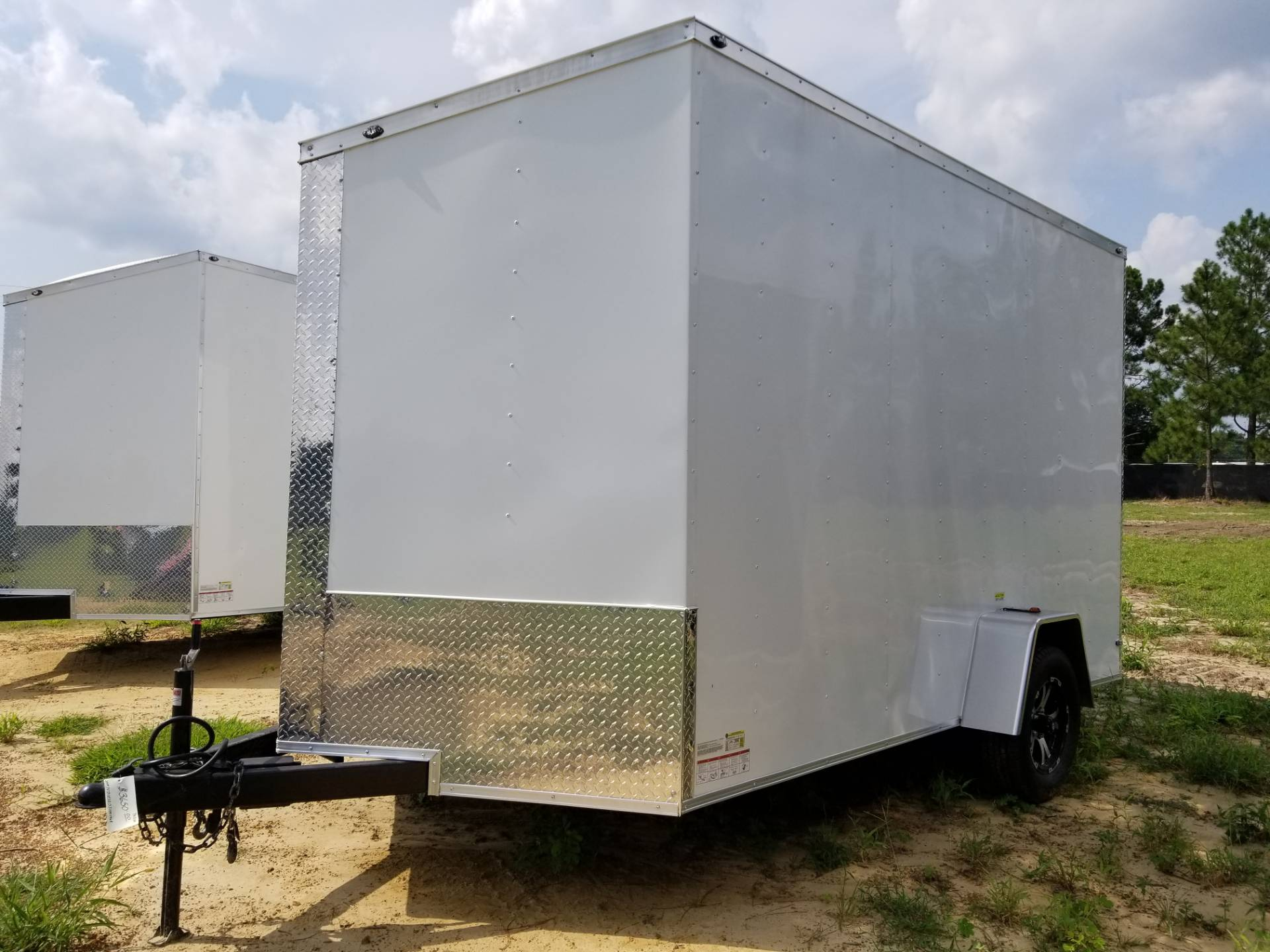 2018 DEEP SOUTH CARGO DEEP SOUTH 7 X 12 SINGLE AXLE CARGO TRAILER in Tifton, Georgia