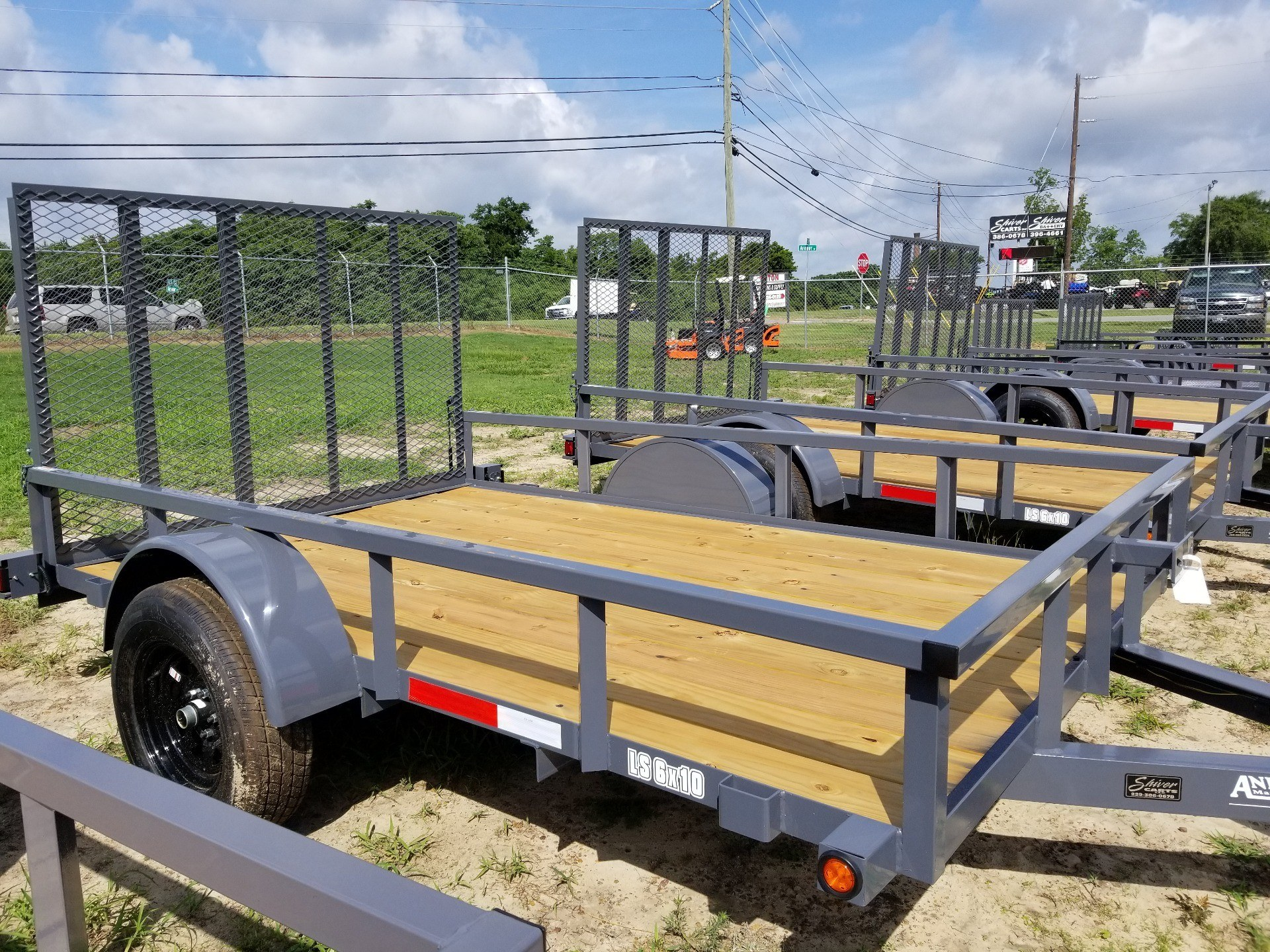 2019 Anderson Trailers 6X10 LANDSCAPE UTILITY WOOD FLOOR in Tifton, Georgia - Photo 1