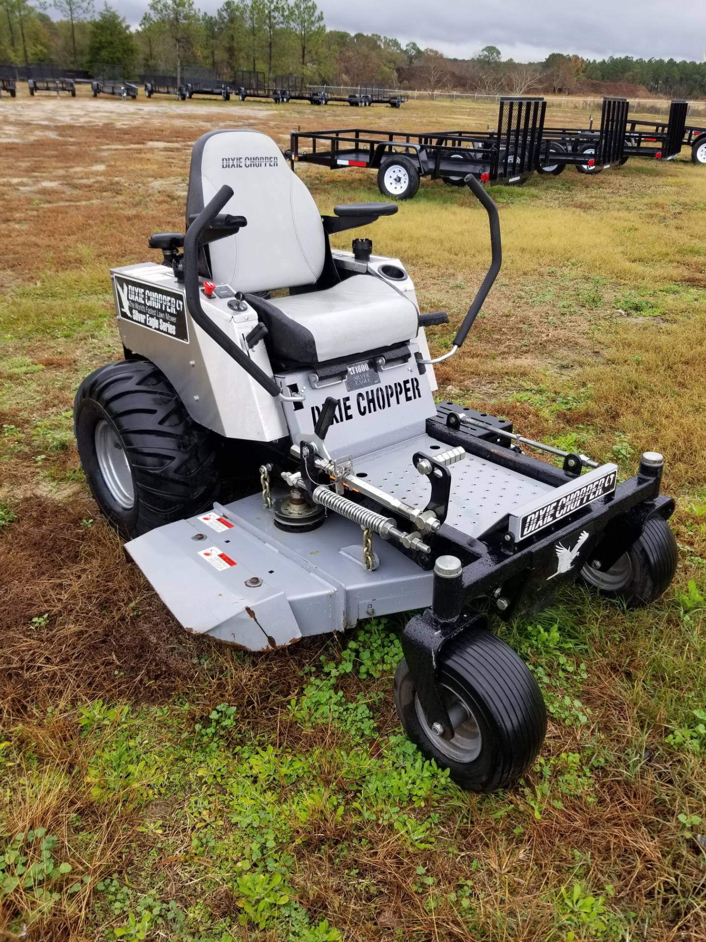 "2017 Dixie Chopper 44"" SILVER EAGLE in Tifton, Georgia"