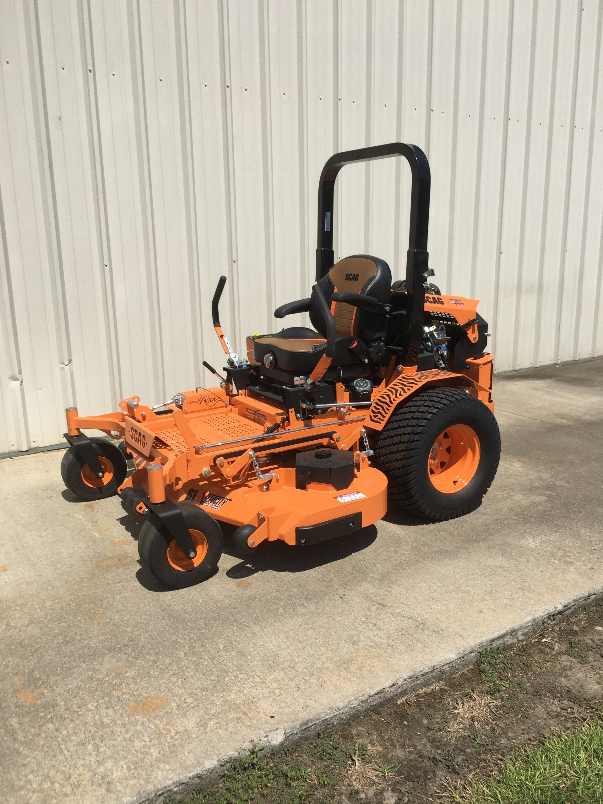 2020 SCAG Power Equipment Turf Tiger II 61 in. Briggs Vanguard EFI 37 hp in Tifton, Georgia - Photo 1