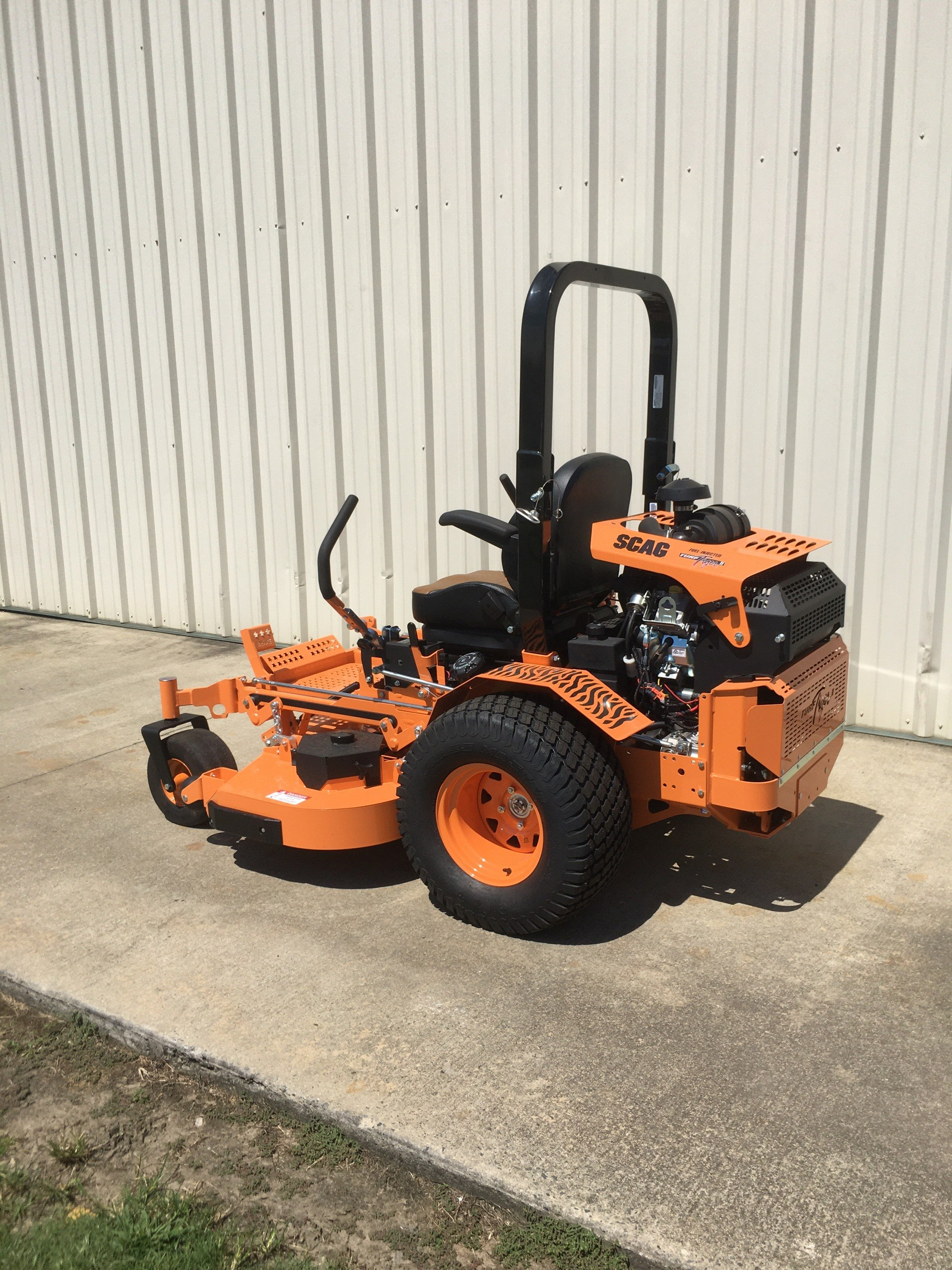 2020 SCAG Power Equipment Turf Tiger II 61 in. Briggs Vanguard EFI 37 hp in Tifton, Georgia - Photo 3